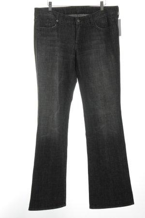 7 For All Mankind Jeans a gamba dritta grigio scuro stile jeans