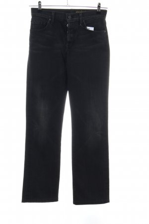 7 For All Mankind Straight-Leg Jeans schwarz Casual-Look