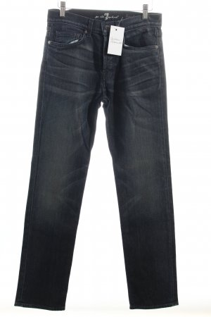 "7 For All Mankind Straight-Leg Jeans ""floyd"" dunkelblau"