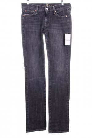 7 For All Mankind Straight-Leg Jeans grau Casual-Look