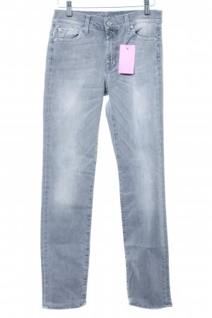 7 For All Mankind Vaquero rectos gris look casual