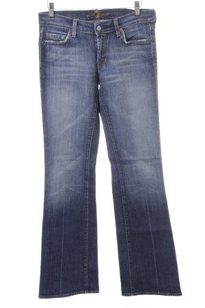 7 For All Mankind Jeans a gamba dritta grigio ardesia stile casual