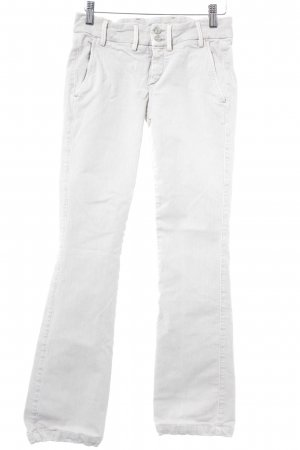 7 For All Mankind Jeans a gamba dritta beige chiaro stile casual