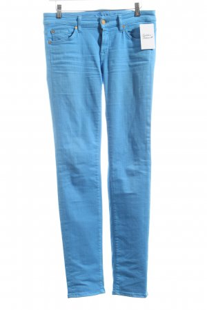 7 For All Mankind Straight-Leg Jeans hellblau Casual-Look