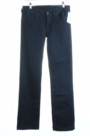 "7 For All Mankind Straight-Leg Jeans ""kimmie"" dunkelblau"