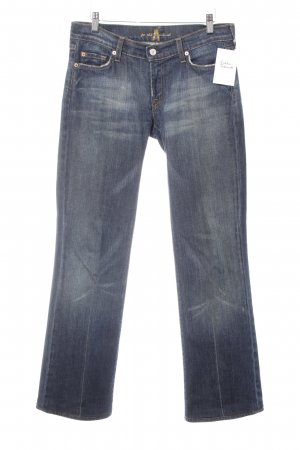 7 For All Mankind Vaquero rectos multicolor look casual
