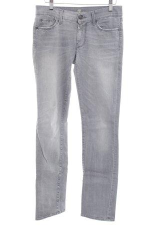 7 For All Mankind Straight-Leg Jeans mehrfarbig schlichter Stil