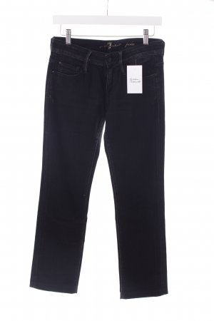 "7 For All Mankind Straight-Leg Jeans ""Pola"" schwarz"