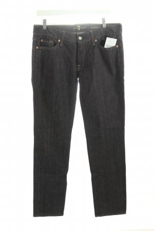 "7 For All Mankind Straight-Leg Jeans ""roxanne"" dunkelblau"