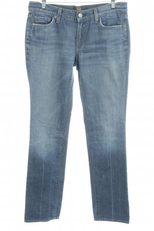 7 For All Mankind Vaquero rectos azul acero look casual
