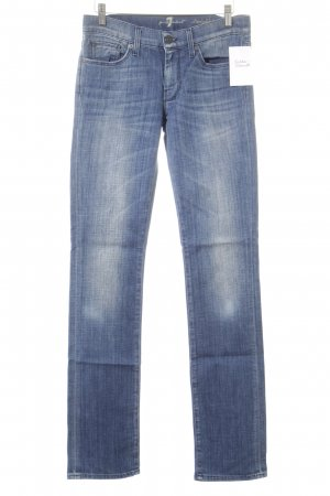 7 For All Mankind Straight-Leg Jeans stahlblau-kornblumenblau Casual-Look