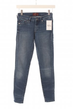 "7 For All Mankind Straight-Leg Jeans ""The Skinny"" blau"