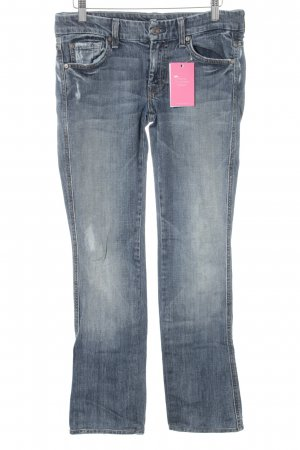 7 For All Mankind Straight-Leg Jeans Webmuster Casual-Look