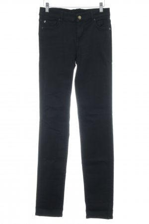 7 For All Mankind Stretch Jeans schwarz Casual-Look