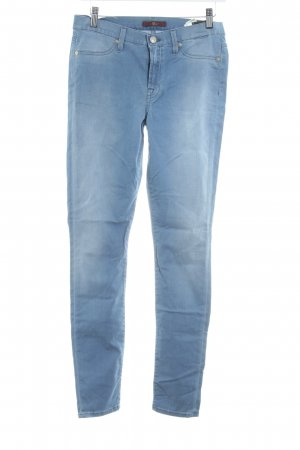 "7 For All Mankind Stretch Jeans ""THE SKINNY"" hellblau"