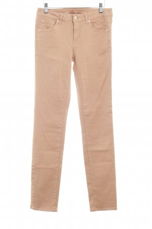 7 For All Mankind Pantalone elasticizzato beige stile casual