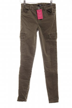 7 For All Mankind Pantalón elástico caqui estilo safari