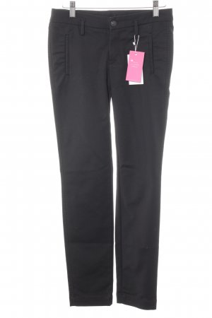 7 For All Mankind Stretchhose schwarz
