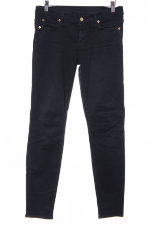 7 For All Mankind Stretch Trousers black street-fashion look