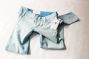 7 for all Mankind Super Skinny Röhre Stretch Jeans Gr. inch 23 xxs