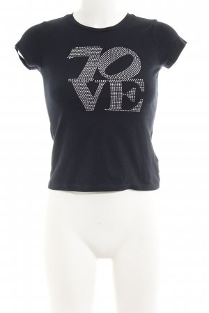 7 For All Mankind T-shirt nero stile casual
