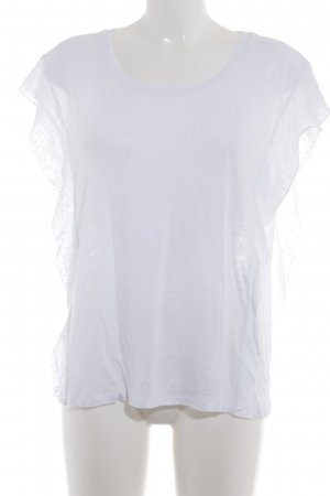 7 For All Mankind T-Shirt weiß Casual-Look