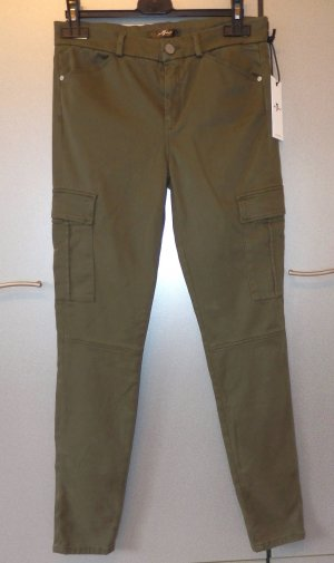 7 For All Mankind The Skinny Cargo Hose Cargopants W28 khaki NP. 240€