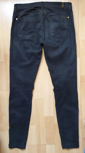 7 For All Mankind Vaquero skinny gris antracita