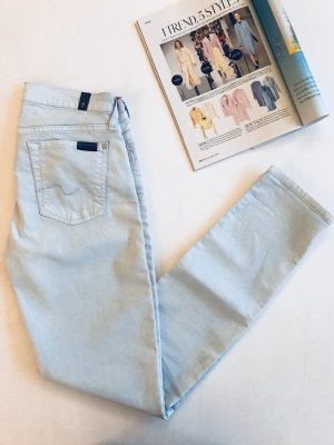 7 for all mankind The skinny Pastell blaue hellblaue Jeans 27