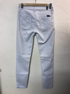 7 for all mankind the skinny Pastell Sommer Jeans Hose slim 27