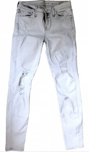 7 for All Mankind The Skinny ripped Jeans