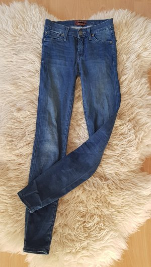 7 for all mankind The Skinny Superior Sateen W23