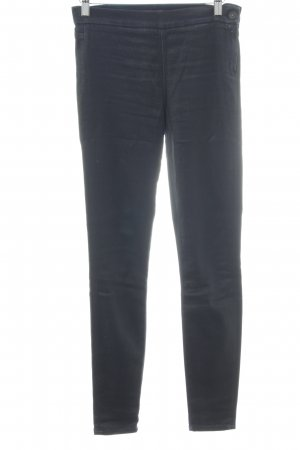 7 For All Mankind Treggings blu scuro Elementi metallici
