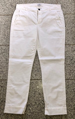 7 For All Mankind Chino blanco Algodón