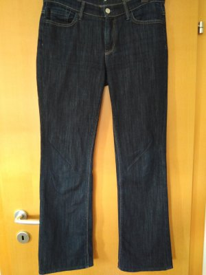 7 For All Mankind Boot Cut spijkerbroek donkerblauw