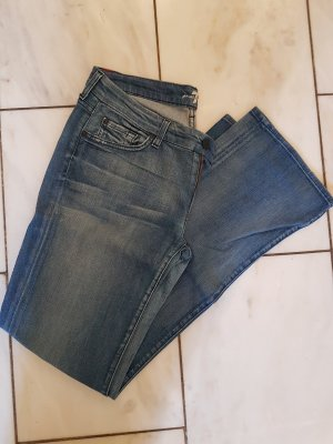 7 For All Mankind Vaquero azul