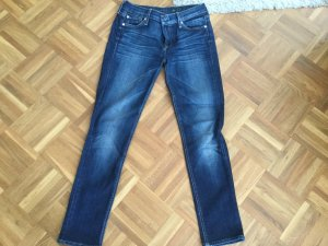 7 For All Mankind 7/8-jeans donkerblauw Gemengd weefsel