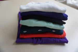 7 Langarmshirts, Unterziehshirts von Oasis und Comma Gr. 34 XS