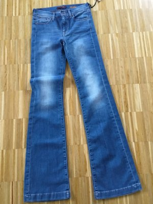 7 For All Mankind Moda azul celeste-azul aciano