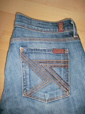 7 For All Mankind Jeans bootcut bleu foncé