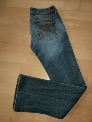 7 Seven for all Mankind Flynt Jeans * Swarovski * Gr. 28