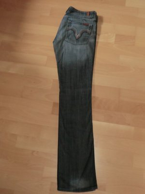 7 Seven for all Mankind Kate Jeans * Straight Cut * Gr. 28