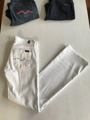 7 Seven for all Mankind Swarovski Jeans mit Schlag 26