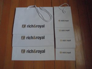 Rich & Royal Carry Bag multicolored