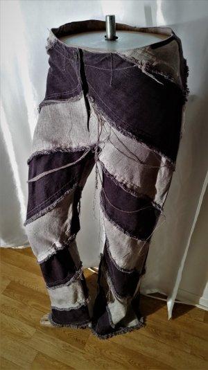 70% Sale! Helena Fejkova Designer Leinen Jeans -hose Life Style Gr 38 Neu!