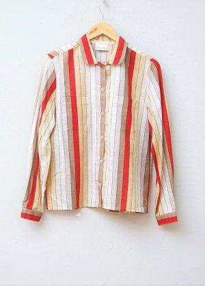 70er/80er Vintage Batist Bluse