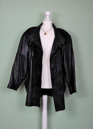 70er Jahre Retro Jacke aus Leder