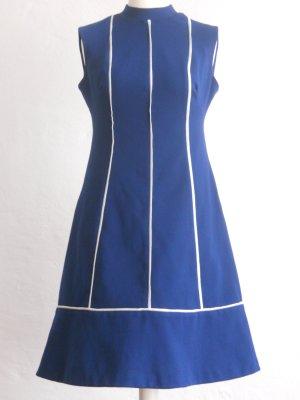70er Jahre Vintage-Kleid A-Linie Gr. 40/42