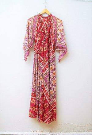 70er Vintage Maxi-Kleid