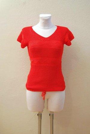 70er Vintage Strick Shirt - Handmade